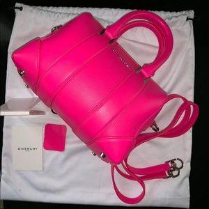 Givenchy pink micro mini Lucrezia crossbody bag